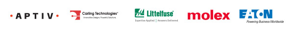 TTI is partnered with Aptiv, Carling Technologies, Littelfuse, Molex and Eaton at the IBEX Expo