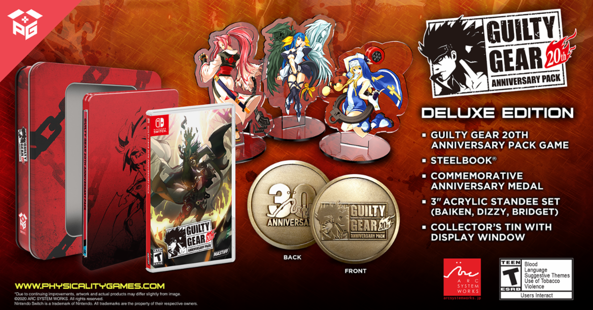 Guilty Gear 20th Anniv. Pack Deluxe Edition