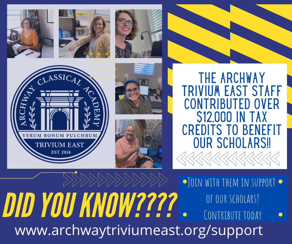 Contribute to the Archway Trivium East Tax Credit