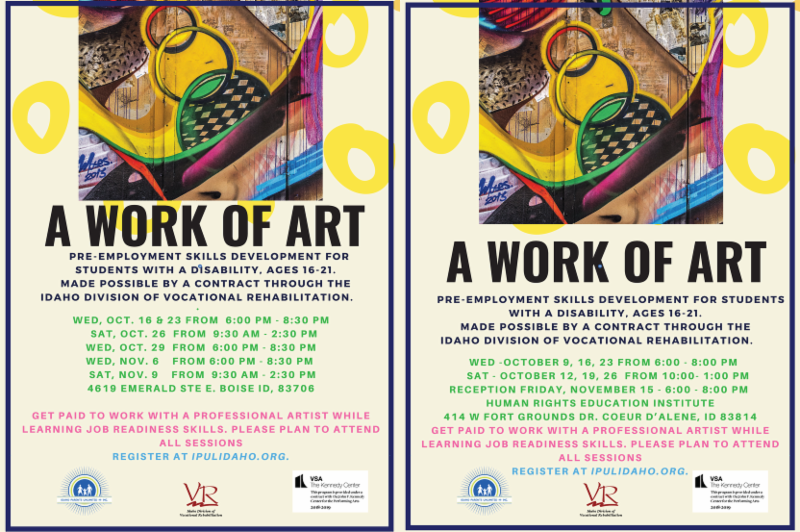 posters for work of art fall 2019