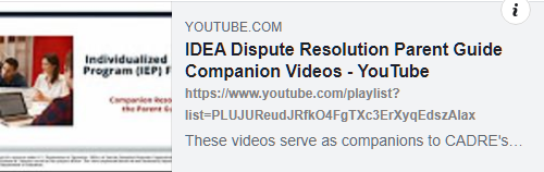 cadre videos on youtube link image