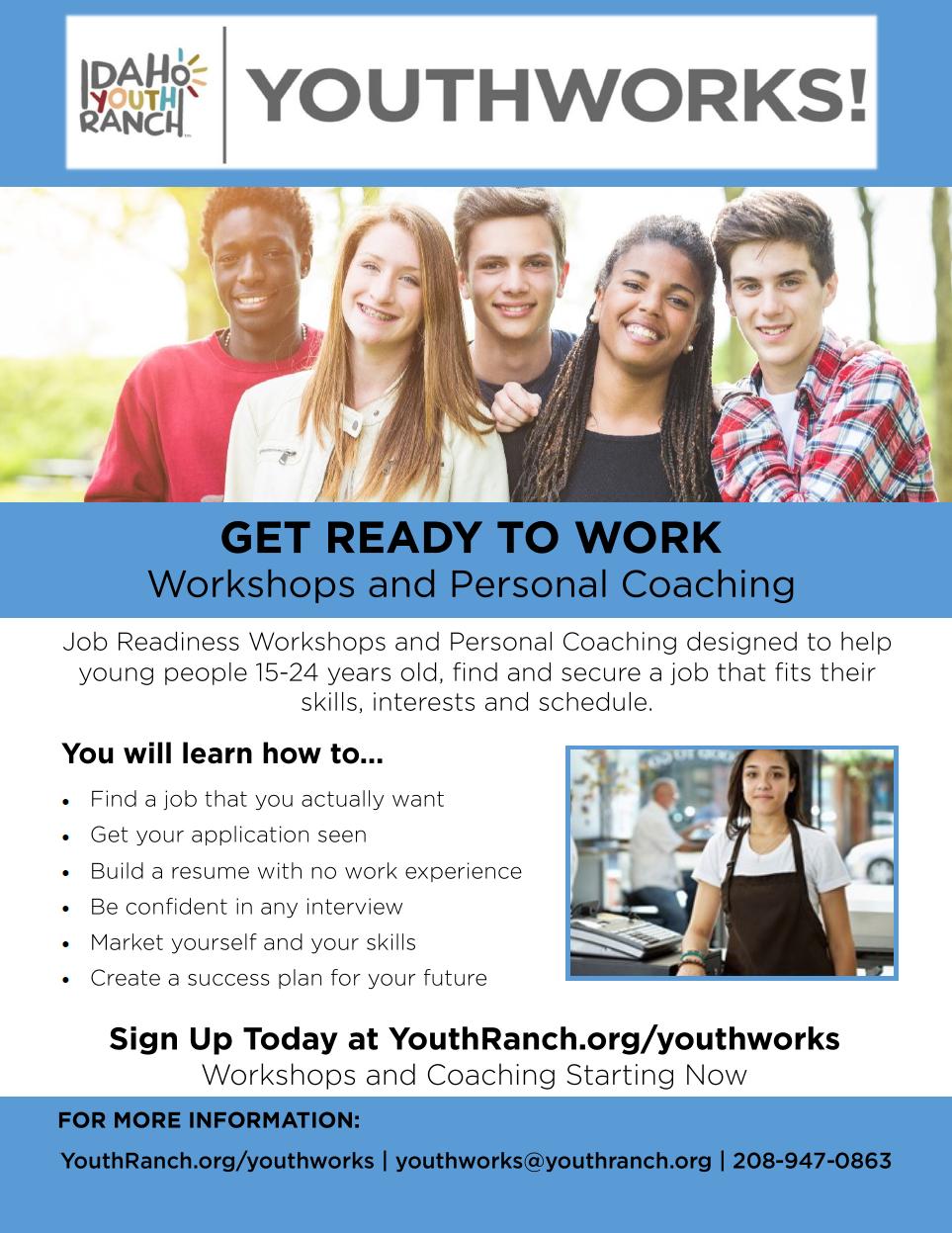 youthworks flyer