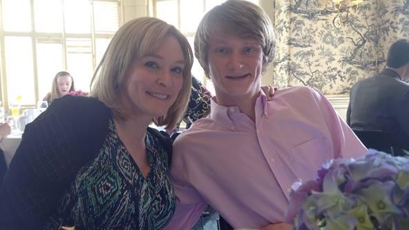 Ellen Braaten and Son