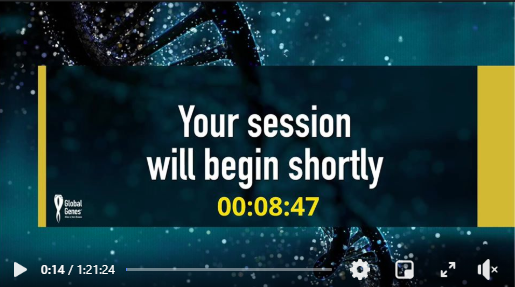 your session will begin shortly