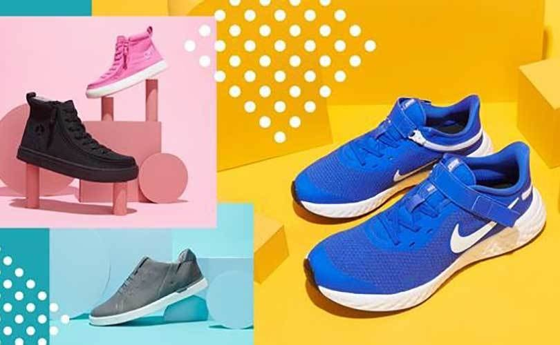various accessible shoes