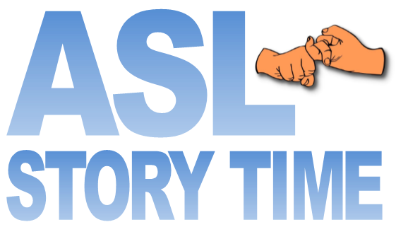 asl story time logo
