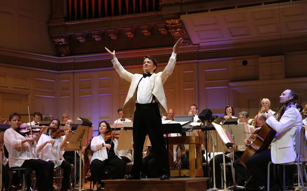 Keith Lockhart with the Boston Pops