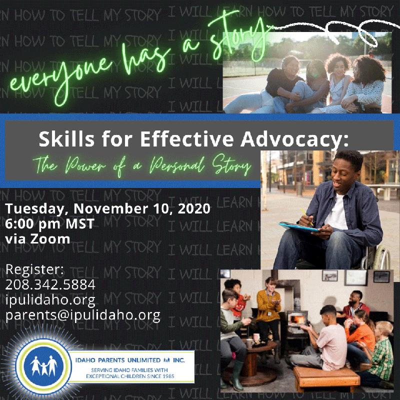 November 2020 workshop flyer