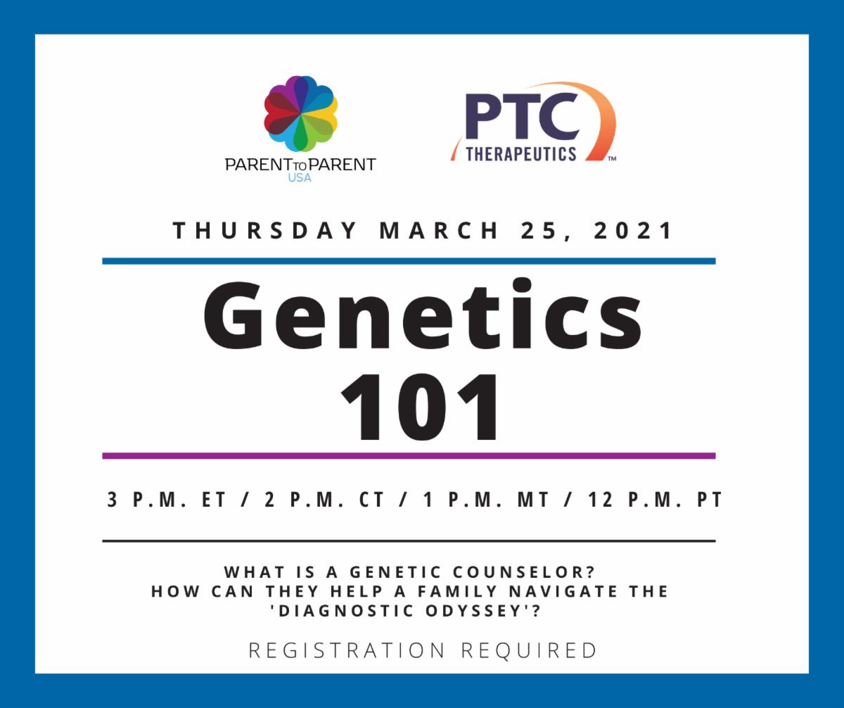 Genetics 101 Flyer