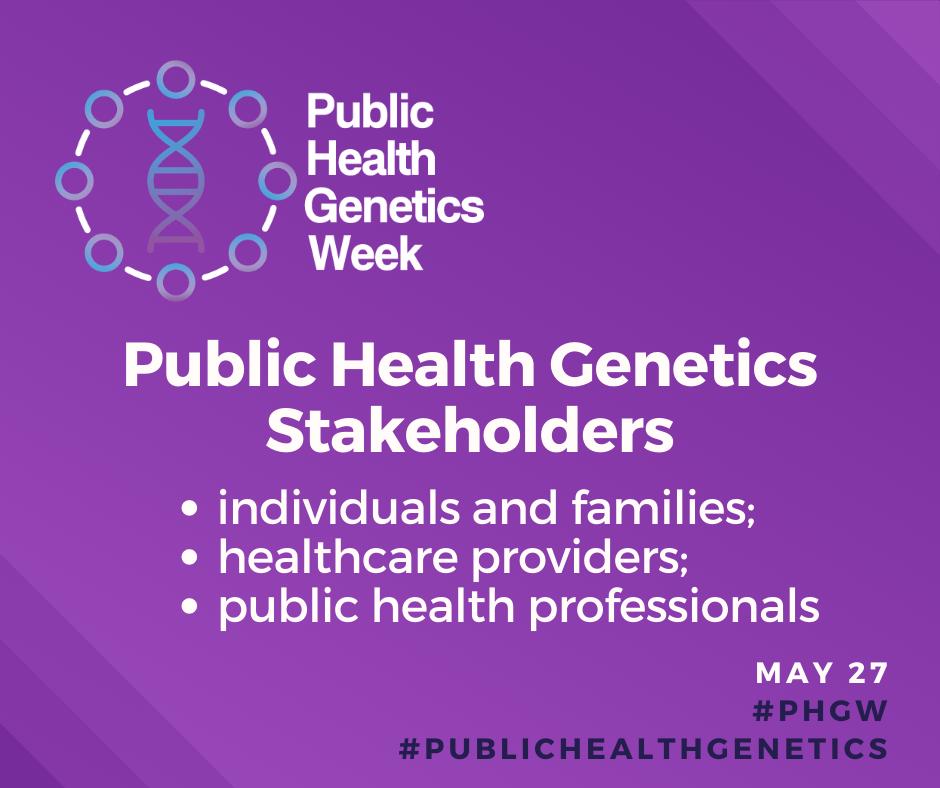 public health genetics week