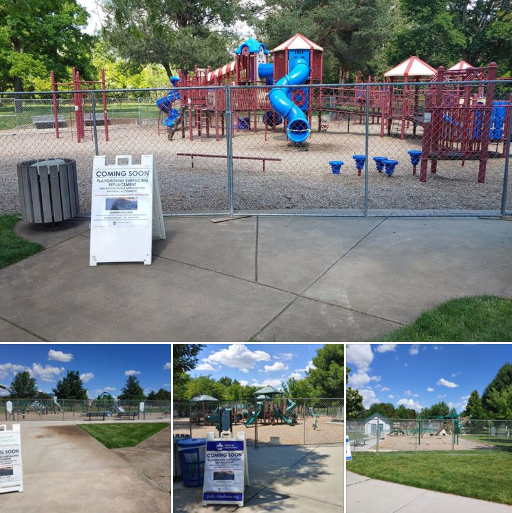 playgrounds under construction