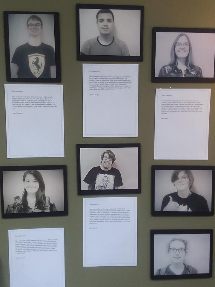 portraits and bios of the artists