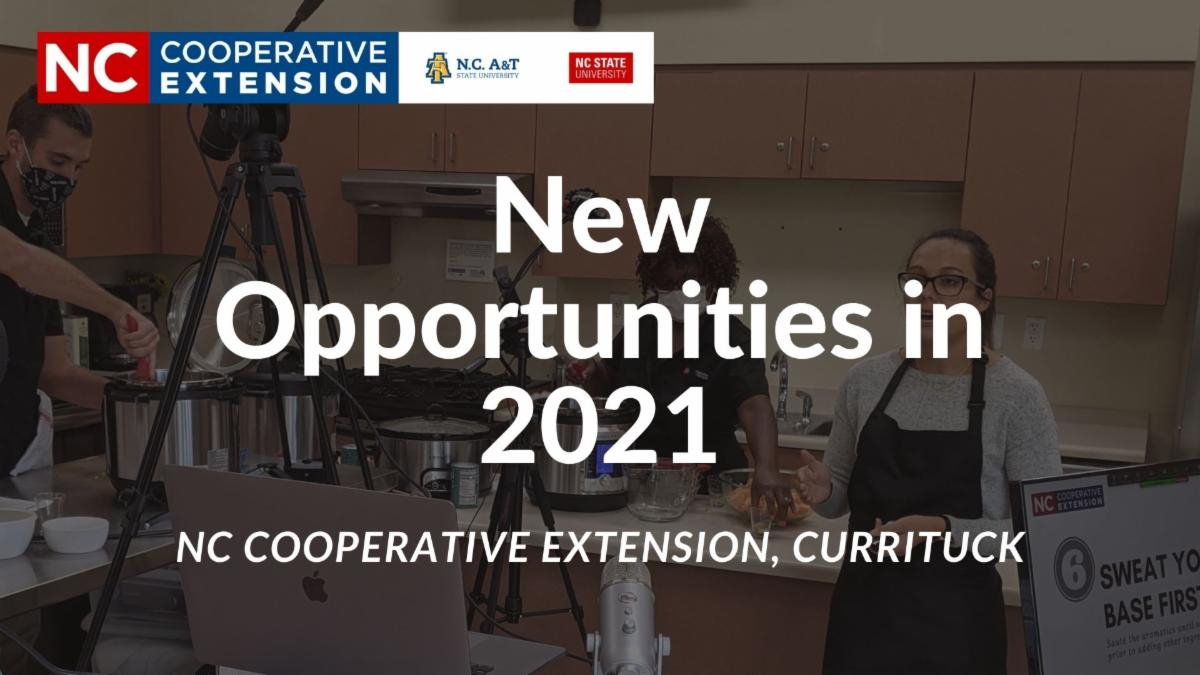 New opportunities in 2021 image