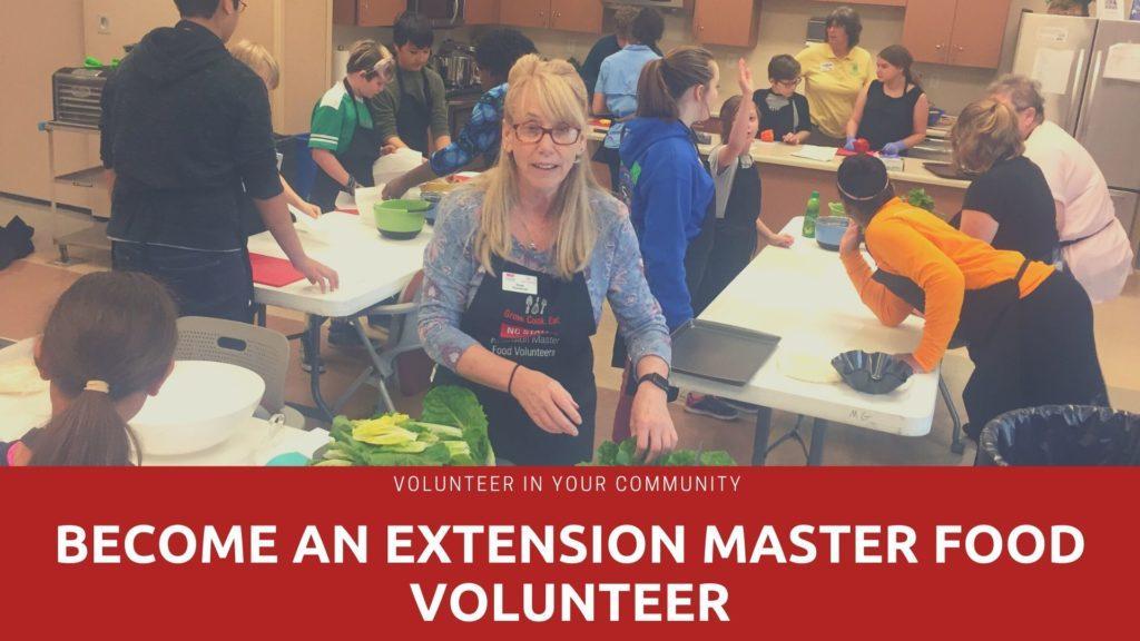 master food volunteer recruitment