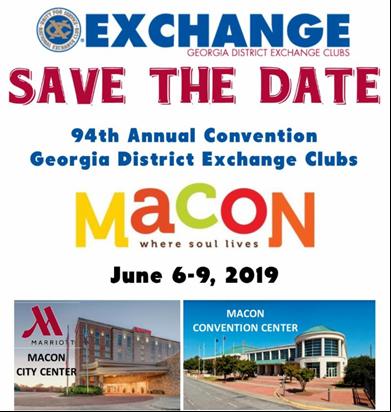 2019 Macon Convention