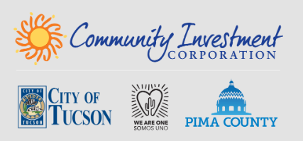 CIC, City of Tucson, We Are One, Pima County logos