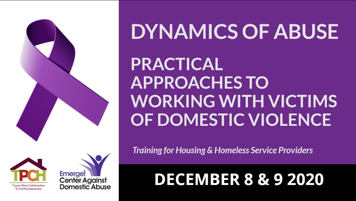 Training for Housing Providers 12/8-9