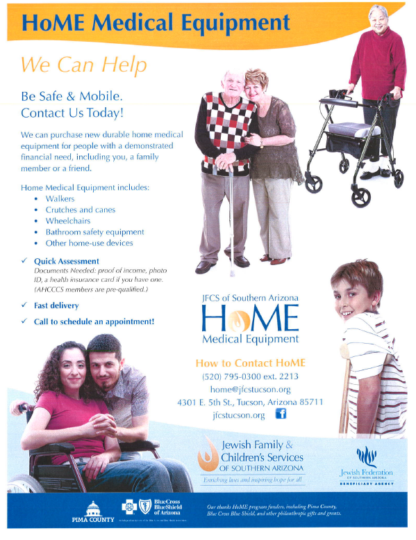 Home Medical Equipment - click for more info