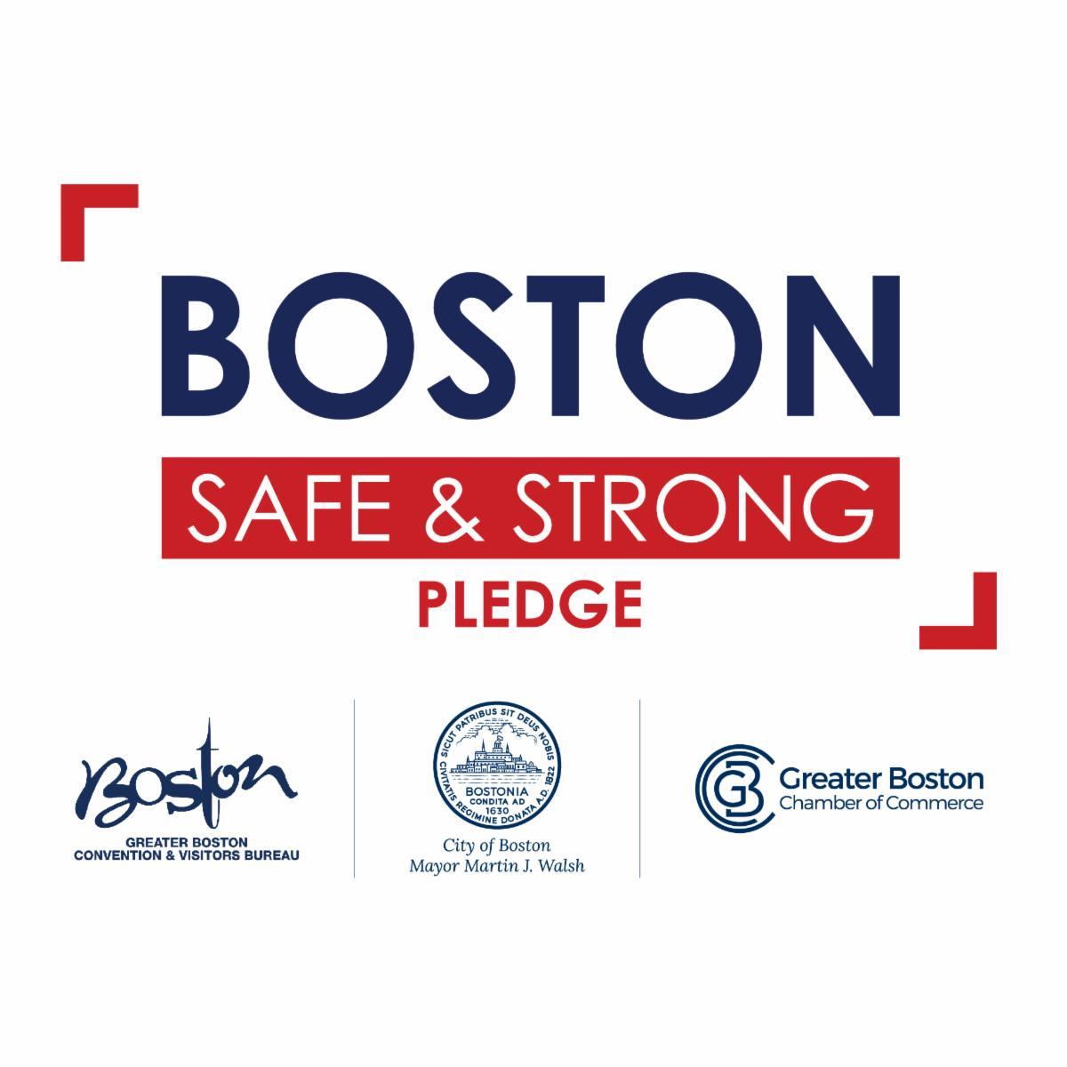 Boston Safe & Strong Pledge