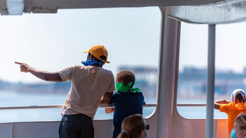Cruise on Boston Harbor