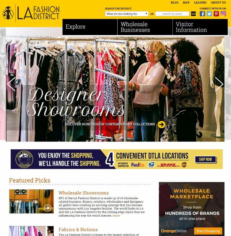 How the BID Markets the LA Fashion District