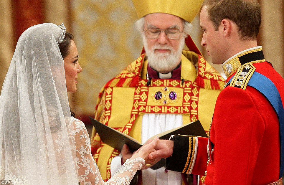 Rowan Williams - Royal Wedding