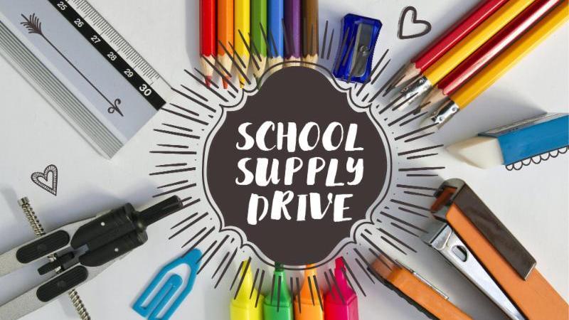 August School Supply Drive