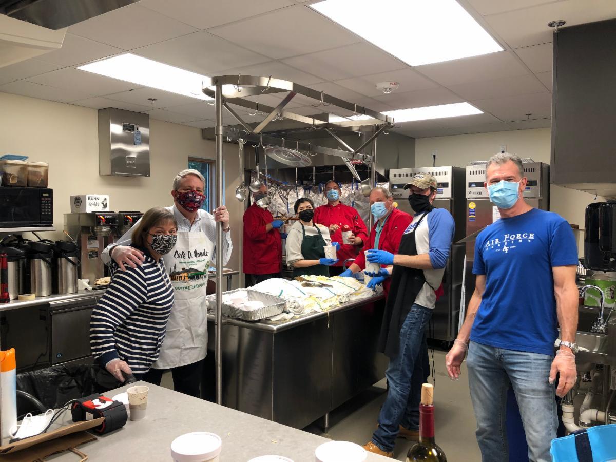 Spaghetti Dinner TO-GO 2020 Volunteers