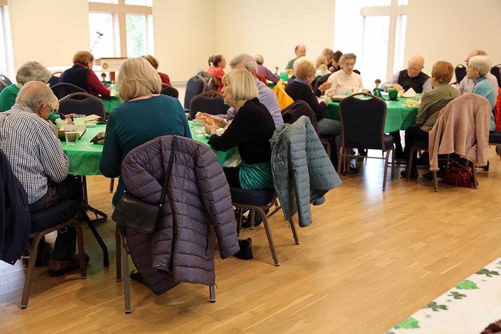 Senior Saints gathering in March 2020