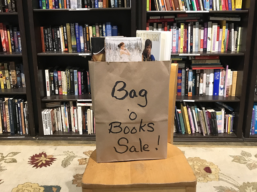 Book Sale at Pennywise Thrift Shop