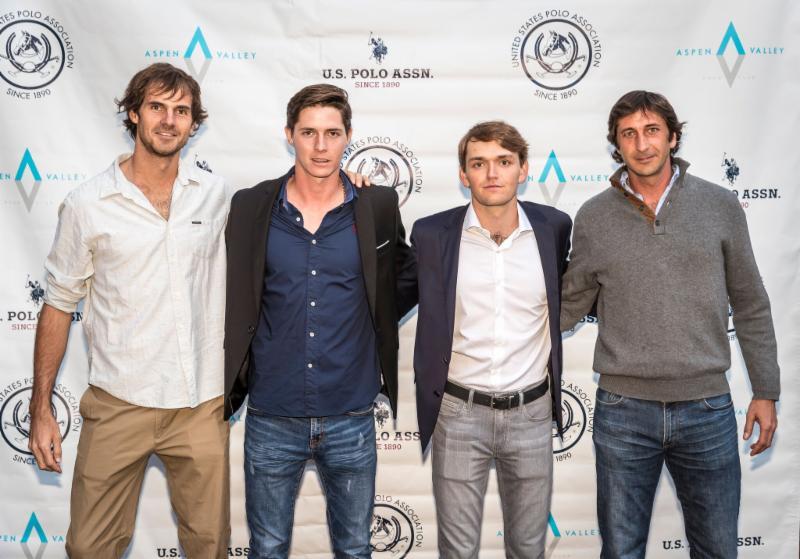 Casablanca teammates Lucas Lalor_ Juancito Bollini_ Grant Ganzi and Nacho Novillo Astrada.