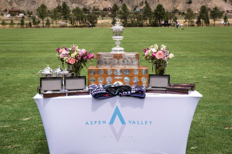 Awards table for the 119th USPA Silver Cup.