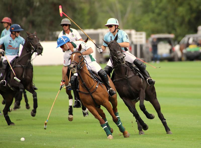 Defender Grant Ganzi of Casablanca stride for stride with Sapo Caset of Tonkawa.