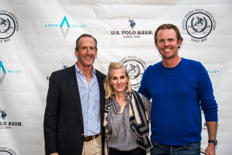 McClure River Ranch teammates Stewart Armstrong and Kris Kampsen with Cece Armstrong.