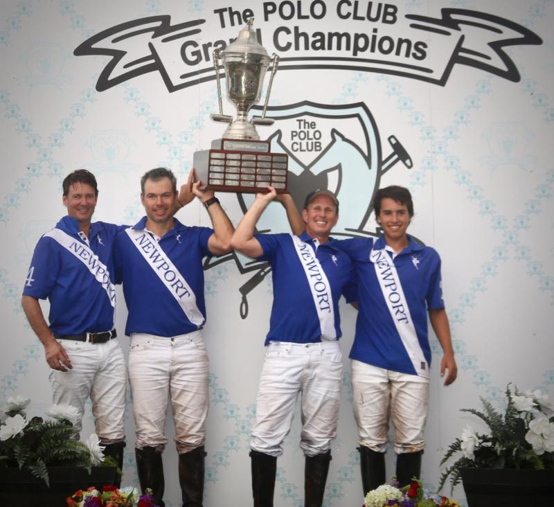 Newport Rallies To Win Limited Edition 12-Goal Tournament At Grand Champions; Michel Dorignac Named MVP