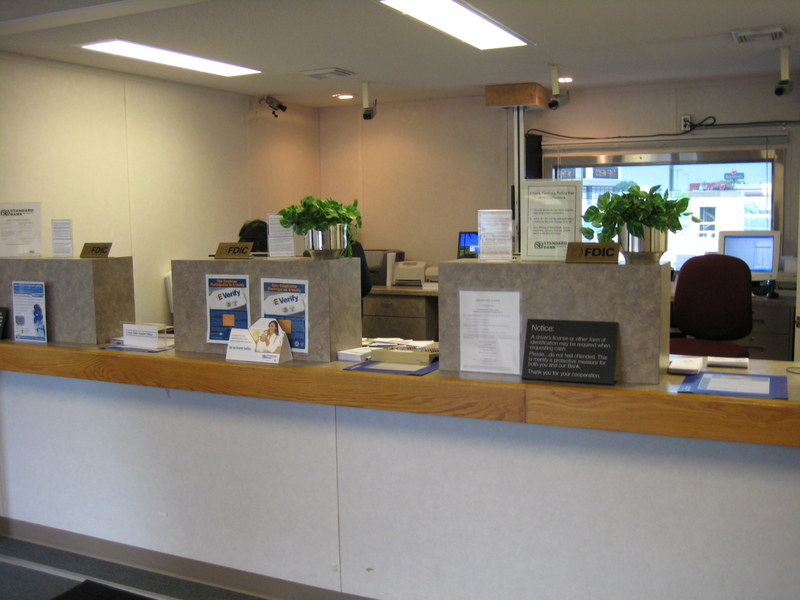 Mobile Bank Interior