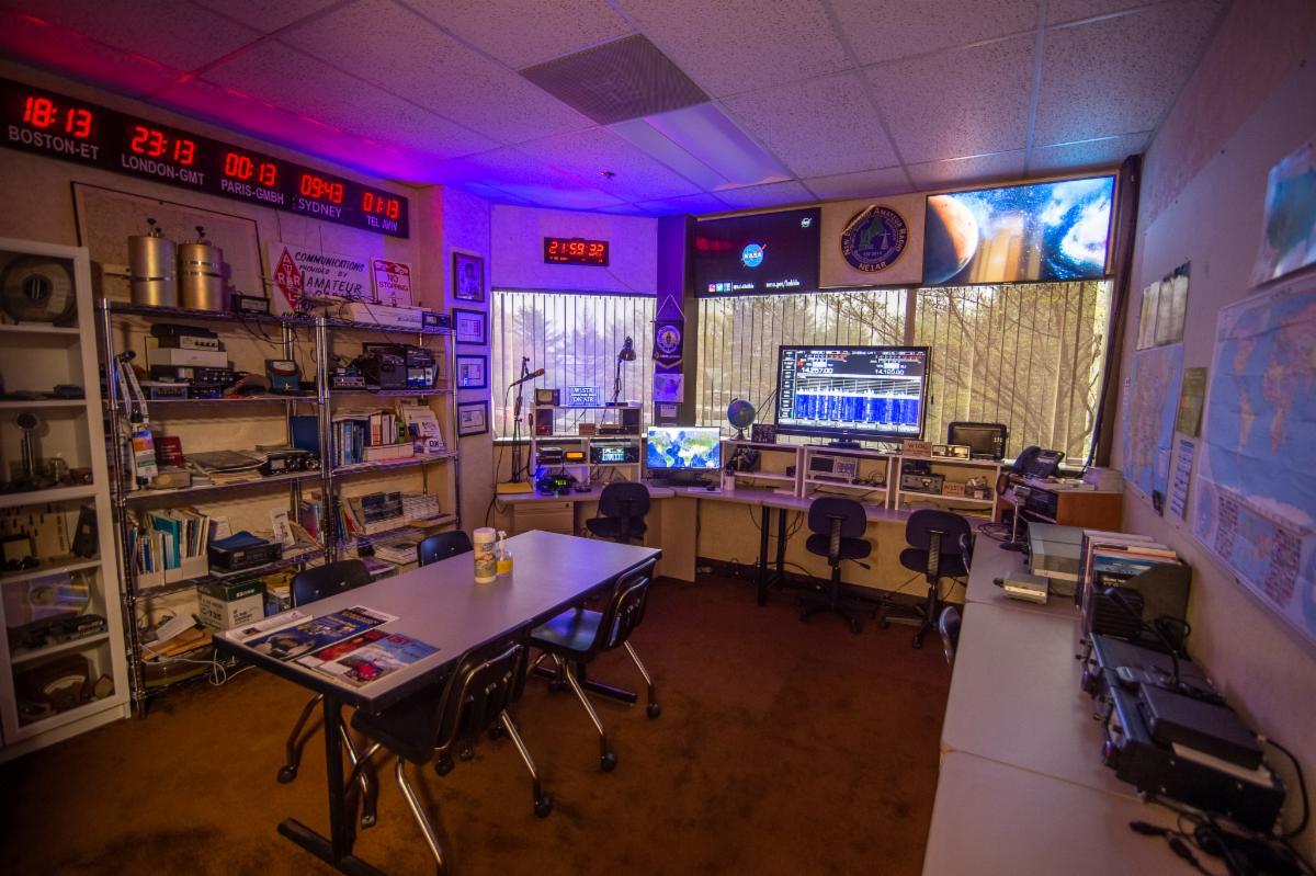 STARS radio room