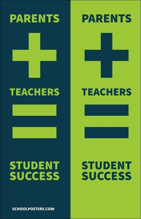 Parent Teacher poster