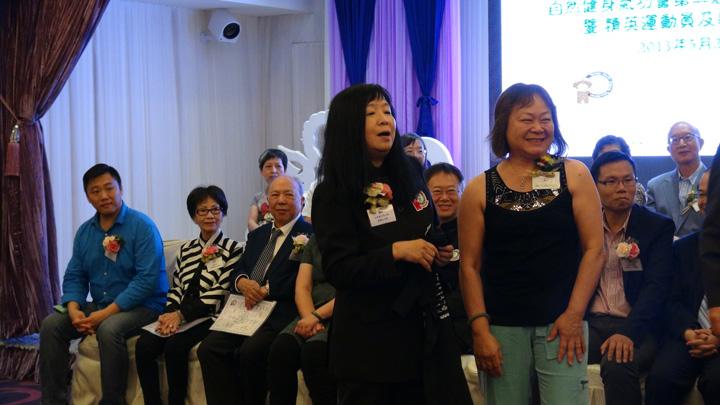 Hong Kong Angela and Dr. Luk