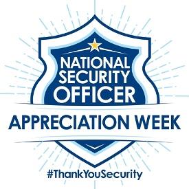 National Security Officer Appreciation Week logo