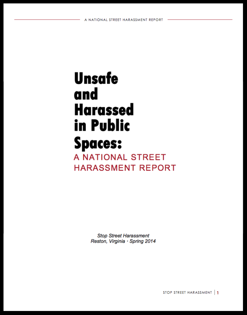 National Street Harassment Report