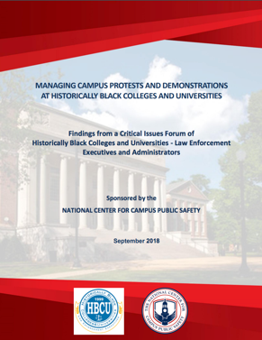 HBCU Protests Report Cover