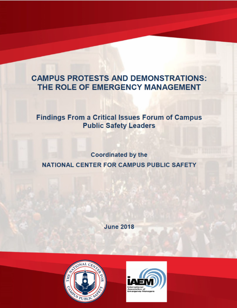 NCCPS Campus Protests Report