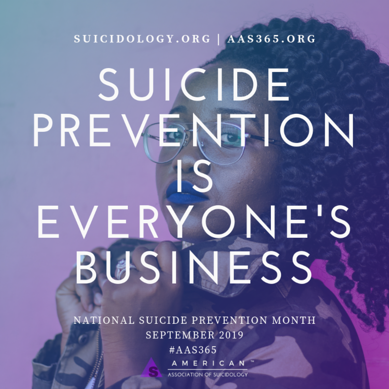 Suicide Prevention Month image