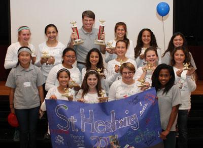 St. Hedwig team - Koala Bowl