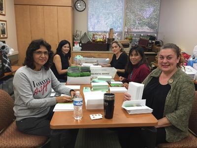 mailling volunteers