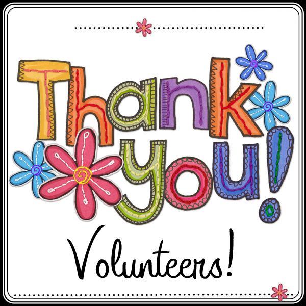 Thank you volunteers