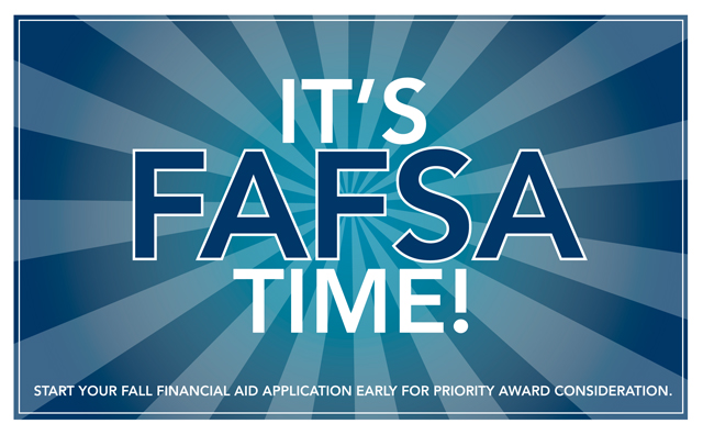 FAFSA time