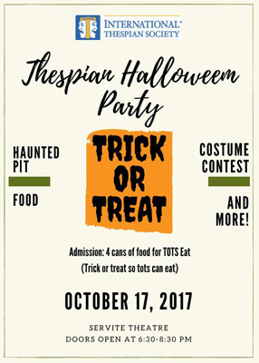 Thespian Halloween Party