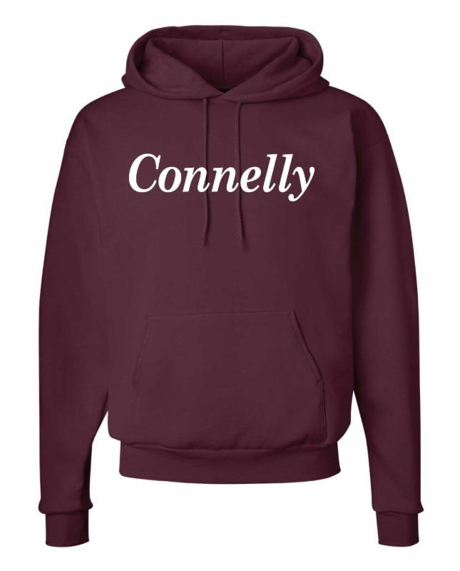 mid-weight hooded pullover spirit wear